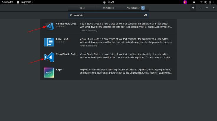 visual studio gnome software
