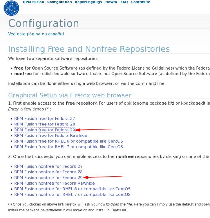 Pós Instalação no Fedora com RPMFusion/Flatpak/Snap – Fast OS
