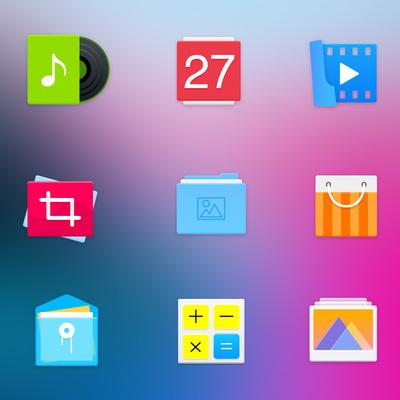 deepin icones